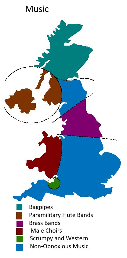 UK Divided By Music