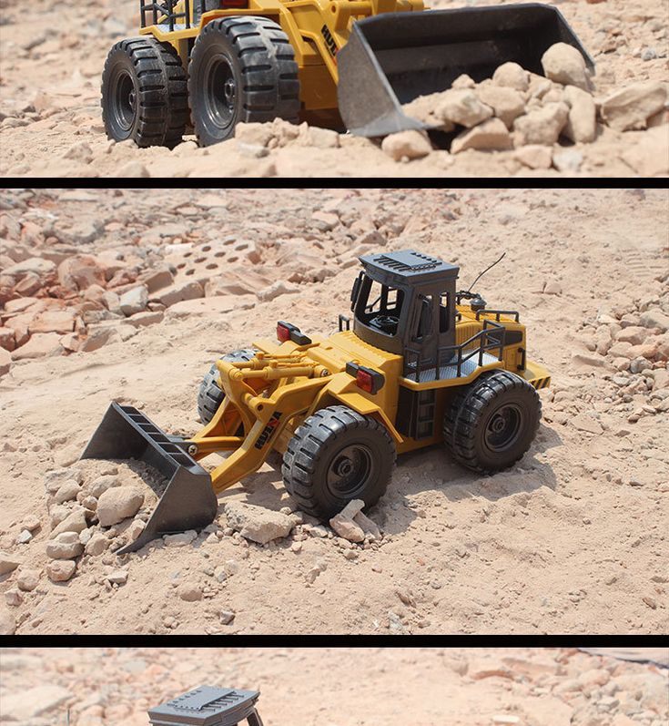 Irrespective of the size and other physical attributes, this RC bulldozer toy can really work like the real one Enough power to support climbing effortlessly Double motor four-wheel drive Rubber wheels, more slippery wear-resisting Dual lock type external charging It could turn frontward and backward, left and right flexibly Rechargeable and practical toy