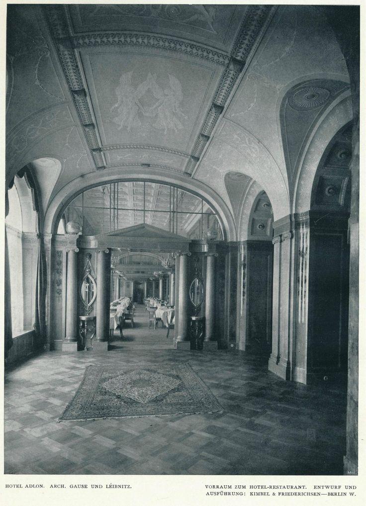 https://flic.kr/p/yfKBpT   Innendecoration 1908 Berlin Hotel Adlon  h