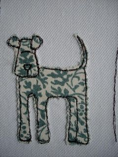 Free Motion Embroidery Applique.