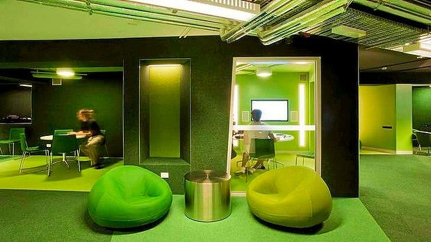 Today universities are trying to entice students to stay by designing environments that are increasingly less like traditional school models and more like lounges, cafes or clubs.   - Sydney Morning Herald
