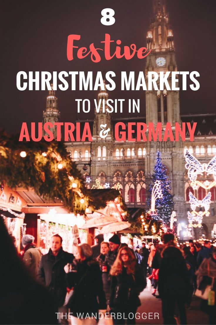 8 Festive Christmas Markets To Visit In Austria & Germany