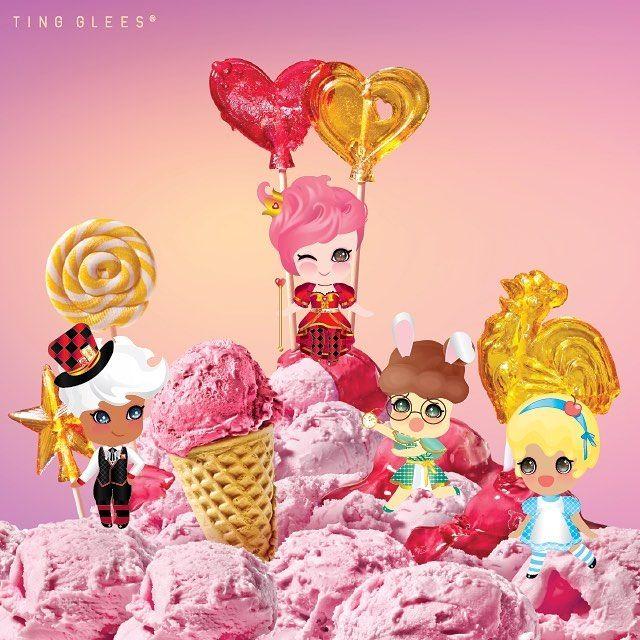 아이스크림 속에서 살고 싶다We wish to live in the icecream . #tingglees#tingglee#icecream#strewberry#candy#sweets#illustration#character#design#pink#wonderland#wonderland_arts #smaiu#스마이유#팅글리#아이스크림#딸기#사탕#달콤#이상한나라#일러스트#캐릭터#디자인#핑크#분홍#딸기아이스크림