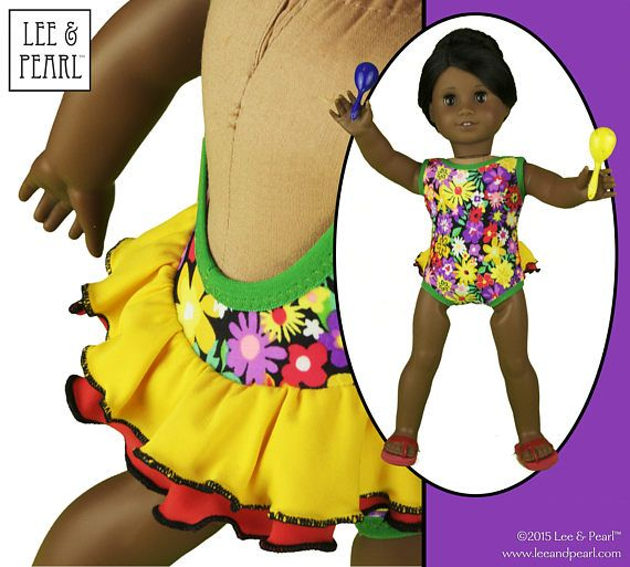 It's the Lee & Pearl Anniversary Sale! Shop our Etsy store at  https://www.etsy.com/shop/leeandpearl and use coupon code HAPPYBIRTHDAY2017 for 20% OFF your entire purchase, including this fabulous ruffly swimwear pattern — L&P 1058 Retro Ruffled Swimsuit and High Waisted Bikini Pattern for 18 Inch Dolls, like our American Girl doll. But don't wait to shop — this sale ENDS at MIDNIGHT PST on Thursday, July 13, 2017.