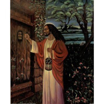 Anyone Home Food For Thought Jesus Art Black Jesus
