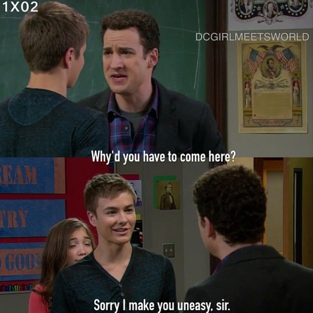 "S1 Ep2 ""Girl Meets Boy"" - Lucas and Cory"