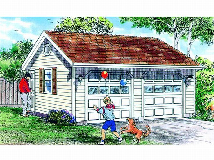 1000 images about garage ideas on pinterest craftsman for Garage foundation plans