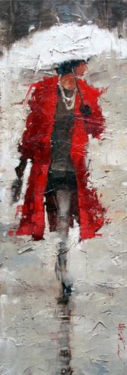 """Vintage Chanel #8"" by Figurative Impressionism Artist, Andre Kohn."