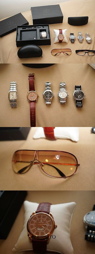 Other Jewelry and Watches 98863: Police, Emporio Armani, Porsche, Philippe Vandier, Guess Watch And Glasses -> BUY IT NOW ONLY: $250 on eBay!