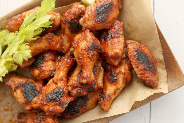 Bloody Mary Chicken Wings - add a boozy kick to this game-day snack!