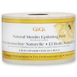 GIGI Natural Muslin Roll: Enhancer Beautiful, Muslin Epil, Beautiful Care, Gigi Natural, Wax Strips, Natural Muslin, Epil Rolls, Muslin Rolls, Epil Wax