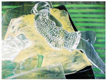 """Saatchi Art Artist Loredana Găină; Painting, """"Abstract Space 2"""" #art"""