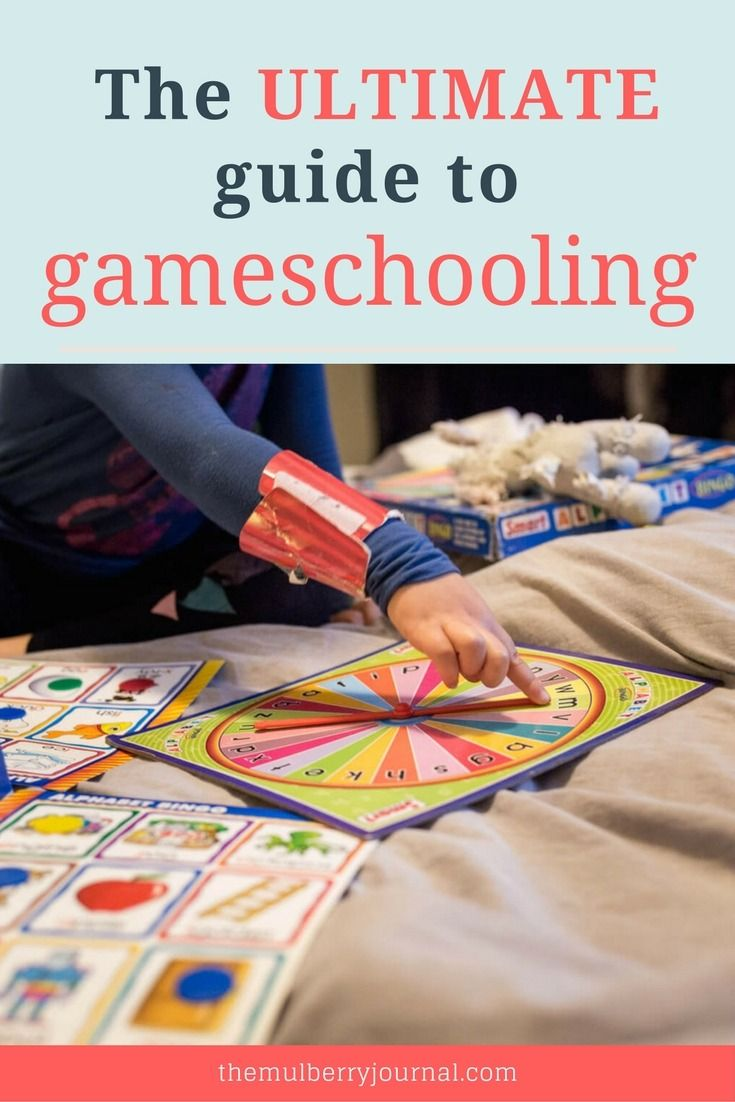 The ultimate guide to gameschooling on The Mulberry Journal