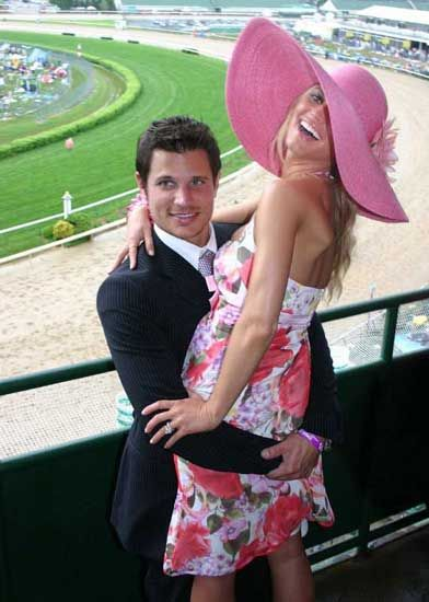 Jessica Simpson 130th Running Of The Kentucky Derby At Churchhill Downs In Louisville May 1 2004