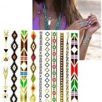 Arany tetoválás - Aztec