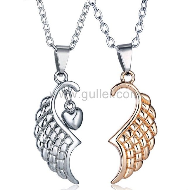 93 best couples necklaces set for 2 images on pinterest for Couples matching jewelry sets