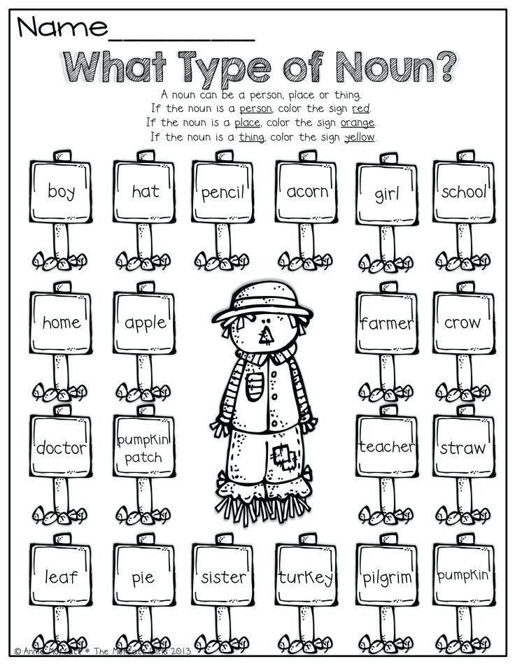 Kindergarten English Worksheets Best Coloring Pages For Kids English Worksheets For Kindergarten Nouns Kindergarten Kindergarten English