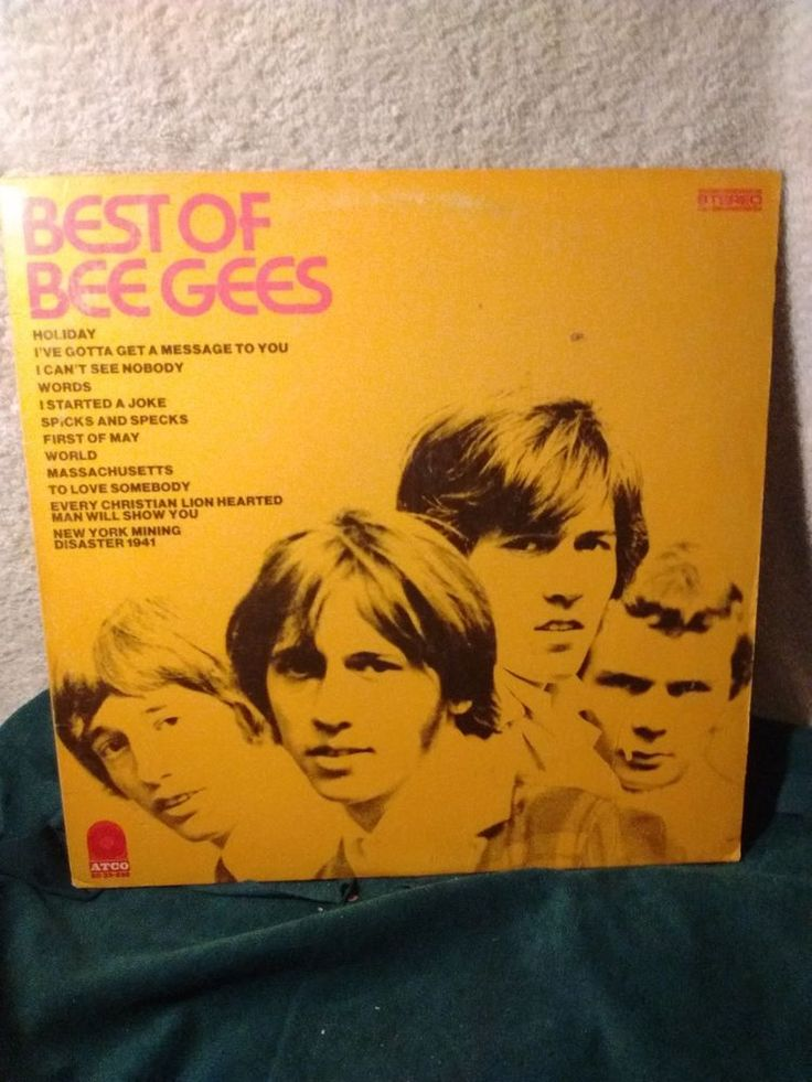Best of The Bee Gees , Bee Gees , Atco Records c1969 #1960s