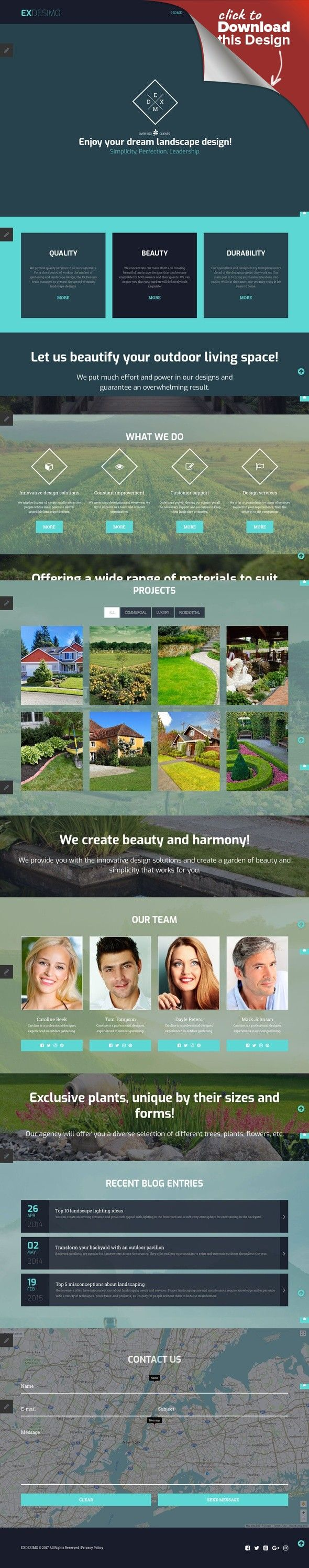 Landscape Design Responsive Joomla Template CMS & Blog Templates, Joomla Templates, Design & Photography, Design, Exterior Design Templates, Landscape Design Templates Landscape Design Responsive Joomla Template. Additional features, comprehensive documentation and stock photos are included.