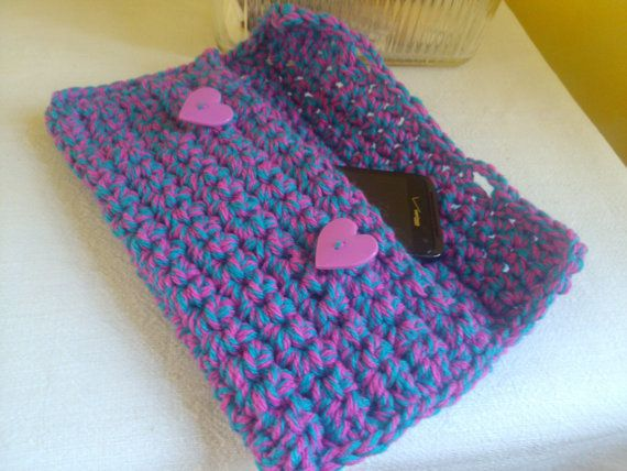 Free Shipping CROCHET Hand Purse ClutchMini purse by 2Crafty4You