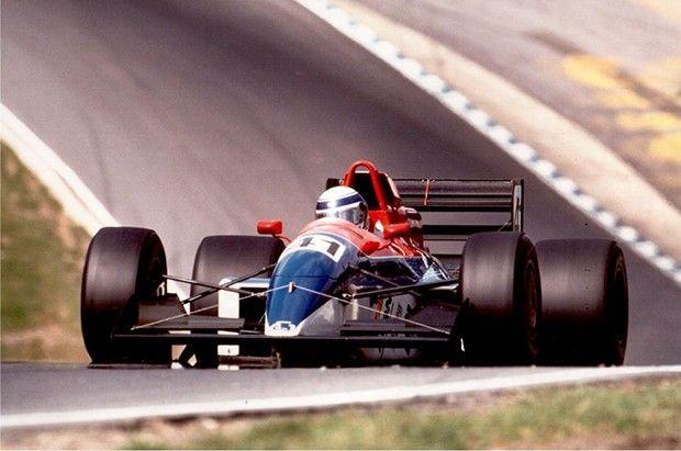 Sétimo lugar no circuito de Le Mans - Bugatti, em 1991 foi o seu melhor resultado. (Foto: Reprodução)