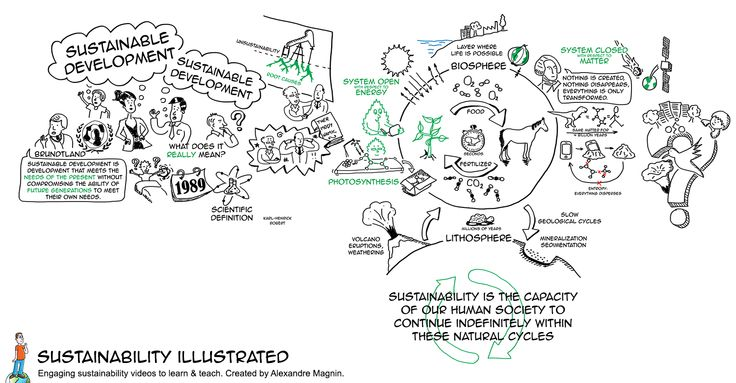 Definition of sustainability base on science: easy to understand with drawings http://sustainabilityillustrated.com/en/portfolio/sustainability-definition/