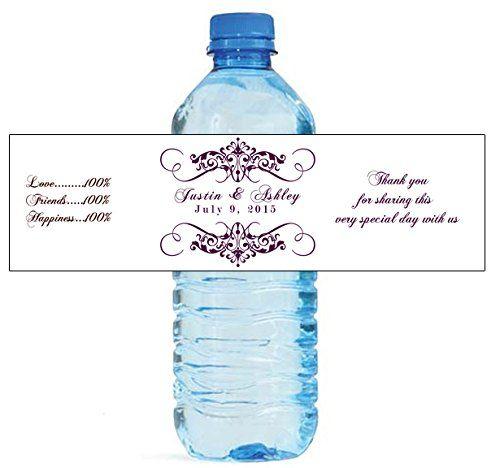 The 11 best water bottle labels images on Pinterest Water bottle