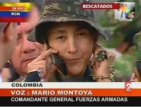 Video FARC Ingrid Betancourt et les 14 autres otages