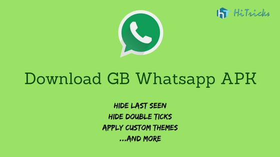 GB Whatsapp for Android brings the best of Whatsapp and some additional cool features that is missing in the stock Whatsapp App. Download apk now.