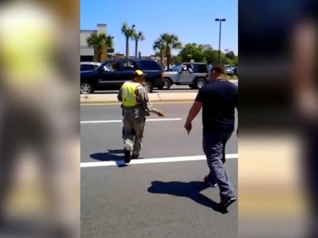 Local vets angry at panhandler dressed in military uniform (Zaeem)