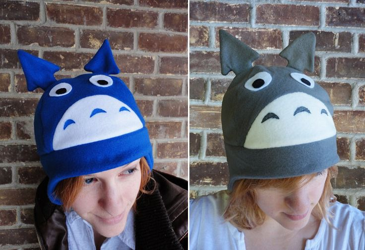 Totoro - Studio Ghibli My Neighbor Totoro Hat - Adult-Teen-Kid - A Christmas-Holiday Gift, or a winter, nerdy, geekery gift! by Akiseo on Etsy https://www.etsy.com/listing/69774983/totoro-studio-ghibli-my-neighbor-totoro