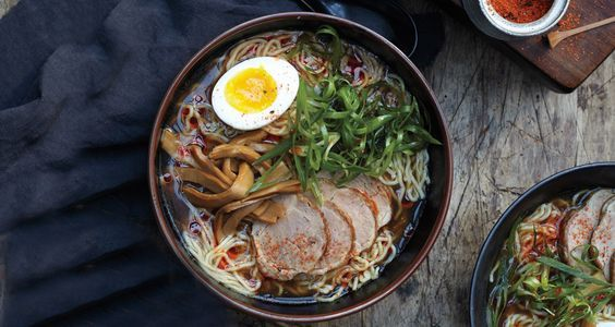 How to Make Authentic Shoyu Ramen at Home NOTE TO SELF: Shoyu Ramen is SOY SAUCE based