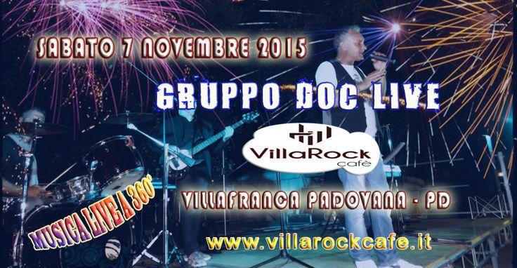 Gente, si ritorna al Villarock Cafè di Villafranca Padovana! Quando? Sabato prossimo, 7 novembre! Musica a 360 gradi e tante delizie da gustare! Non mancate!