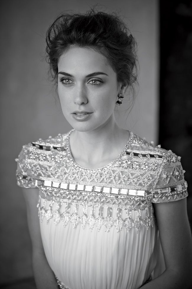 Naeem Khan Wedding dress from our new Spring 2014 issue!   Sergio Kurhajec