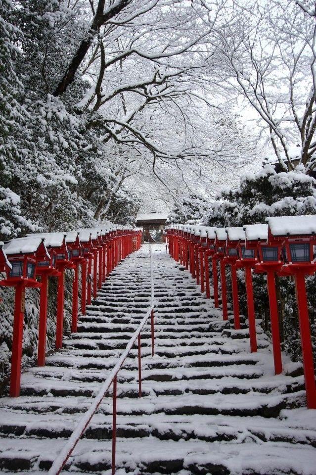 京都を歩く(146) 憧れの京都の雪景色 貴船神社の画像 旅行のクチコミサイト フォートラベル   antenna