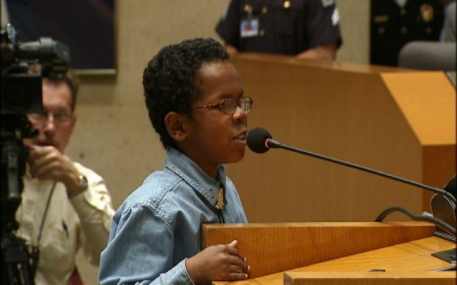 11-Year-Old Boy Checks Dallas City Council Members On Rude Behavior  http://newsone.com/2254514/david-william...    David Williams, an 11-year-old student, went to a Dallas City Council meeting on Wednesday to learn, but ended up delivering an unexpected lecture, Fox 4 News Dallas-Fort Worth reports. SEE ALSO: C...