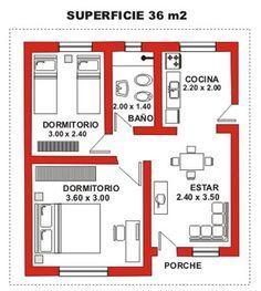 Resultado de imagen para planos de complejo de caba as for Diseno de apartamento de 4x8 mts