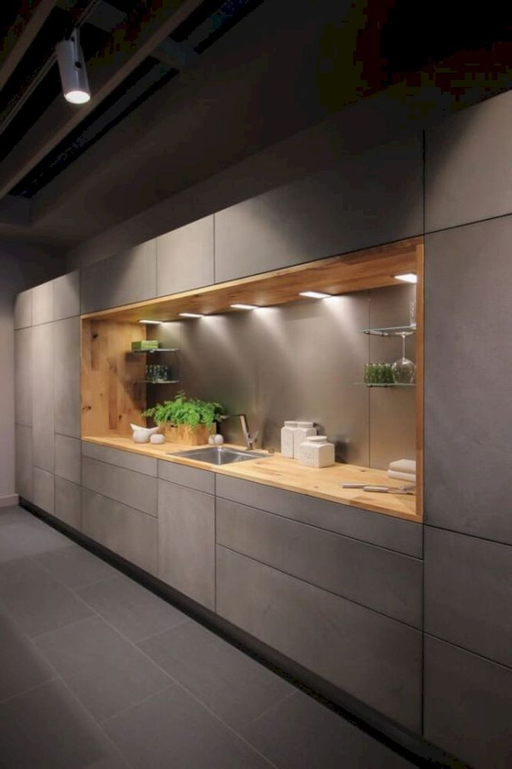 Nice 85 Modern Kitchen Cabinetry Decor Ideas https://homeideas.co/930/85-modern-kitchen-cabinetry-decor-ideas