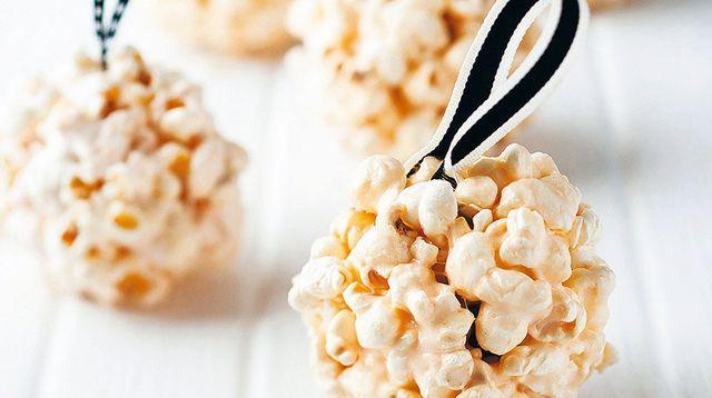 Boules figue et pop-corn