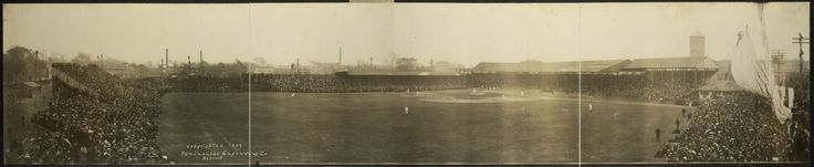 1909 World Series. Pittsburgh Pirates vs. Detroit Tigers at Bennett Park (located on Michigan & Trumbull before Tiger Stadium).