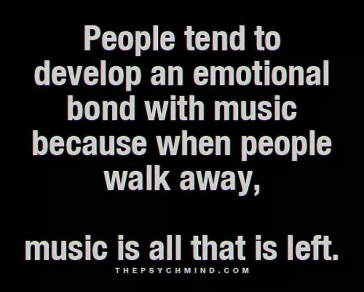 I ❤ MUSIC.>>>....if this winds up being true for me in my scenario, I am going to be pretty broken.
