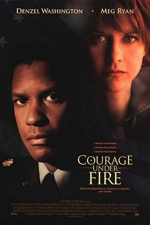 Courage under fire - 1996 : starring Denzel Washington, Meg Ryan, Lou Diamond Phillips and Matt Damon...the movie about the Gulf War..I enjoyed this movie... but had a question about Meg Ryan playing her role of military captain in the War field...