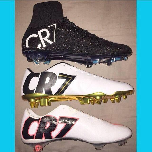 d5a9c9acab75 CR7 Boots Collection <3 | «Everything Soccer» | Soccer shoes, Soccer boots,  Girls soccer cleats