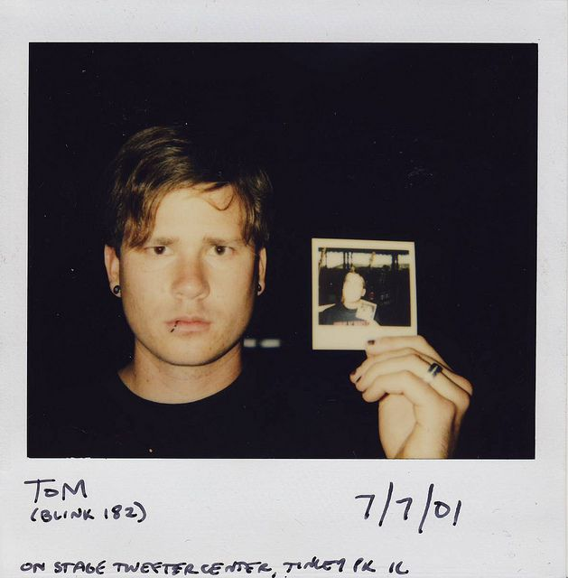 Bob Nanna's neverending polaroid: Tom Delonge