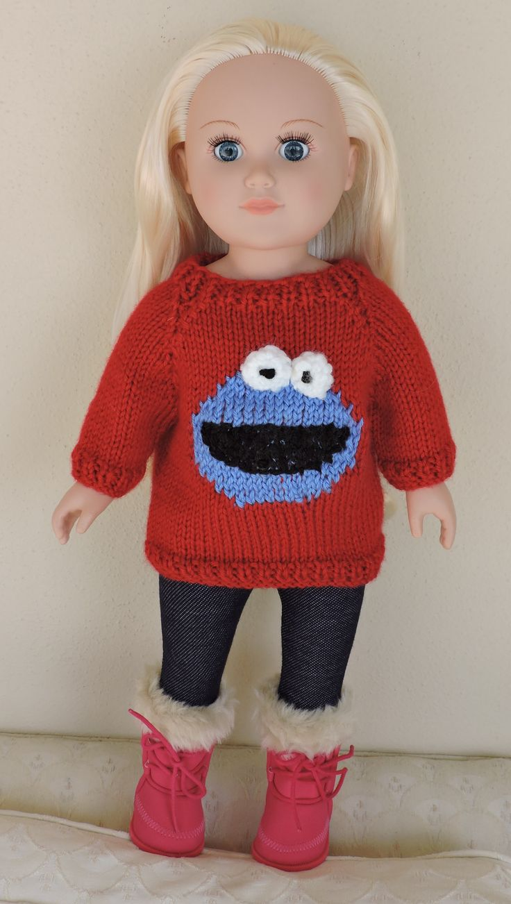 1000+ images about Knit/Crochet American Doll Clothes on Pinterest