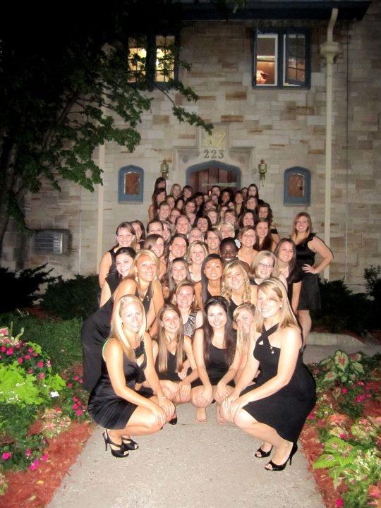 Delta Zeta Preference Party - 2011 Recruitment - Iota Chapter - University of Iowa.