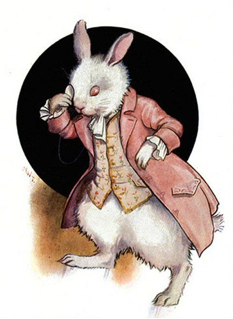 Alice's Illustrated Adventures In Wonderland: Chapter 4 ~ The Rabbit Sends In A Little Bill