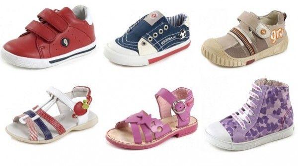 Un bon d'achat de 50€ en jeu pour s'offrir une paire de chaussures de marque pas cher pour enfant (T24 à 35)