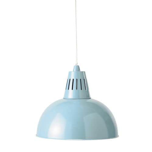 Lámpara de techo azul claro de metal Diám. 39 cm OSKAR