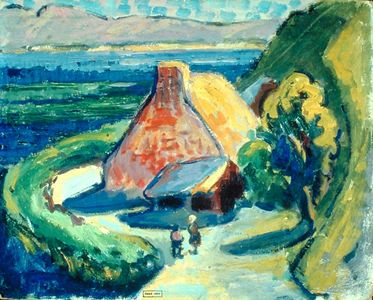 House in Brittany - Emily Carr.